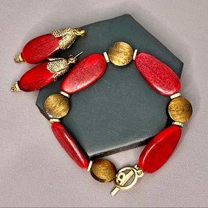 ☀️NEW☀️ Bracelet & Earrings Set